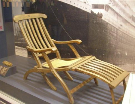 DIY Titanic Deck Chair Plans Free PDF Download woodworking ...