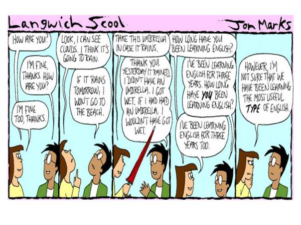 Langwich Scool cartoon