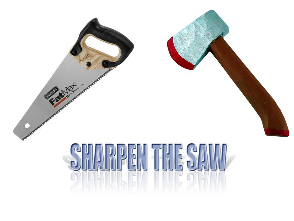 sharpening the saw | allthingslearning
