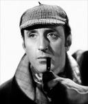 Sherlock Holmes (bw)