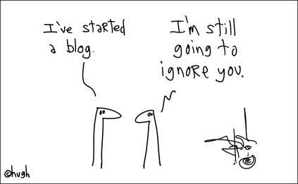 Blogger (still ignore you)