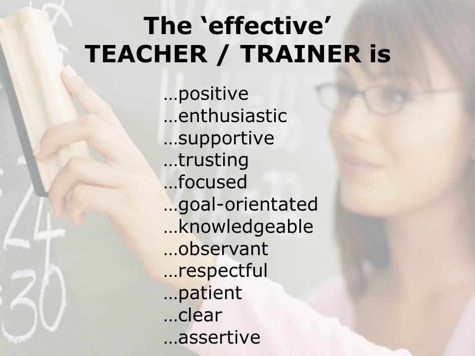 The 21st Century Teacher Trainer… | allthingslearning
