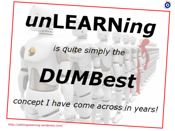 UNlearning (DUMBest idea ever) Ver 02