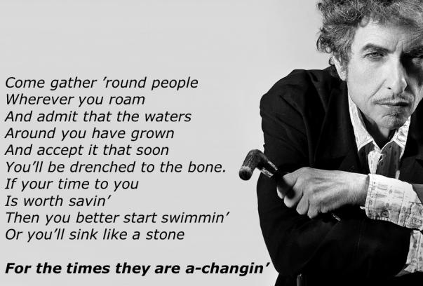 Dylan (a changin)