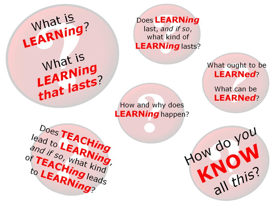 Allthingslearning: UNcover LEARNing FQs