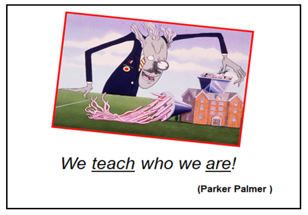 Palmer QUOTATION (TEACH who we are)