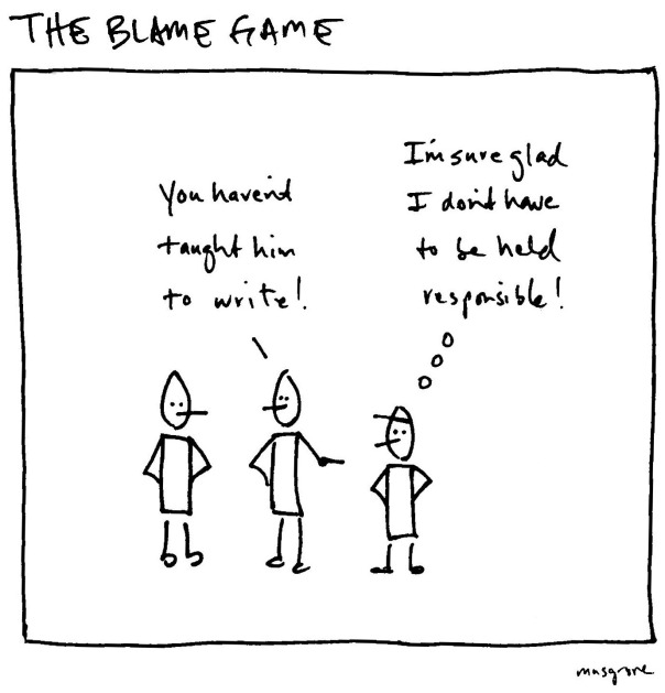 Blame Game 02 (parents and teachers)