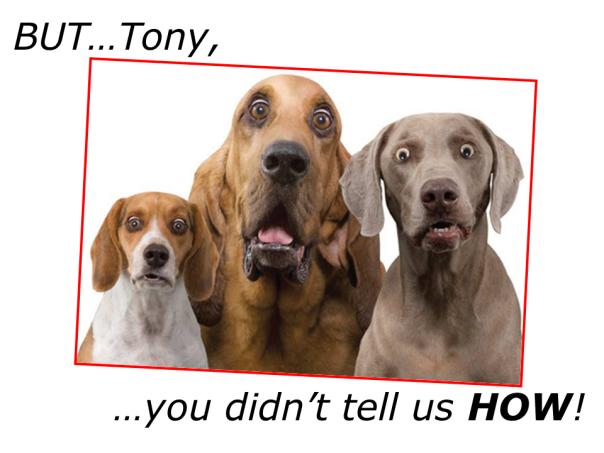 But TONY