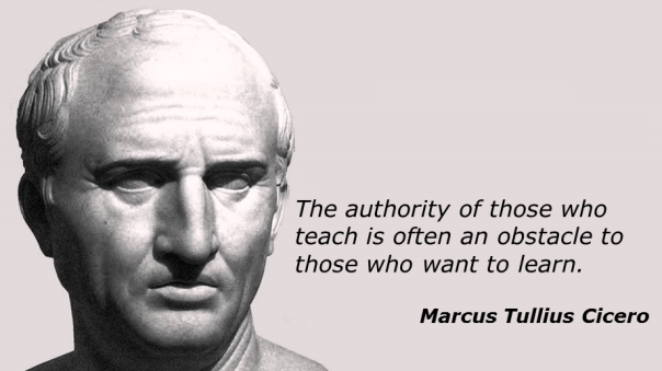 Learning and Teaching (Cicero quote)