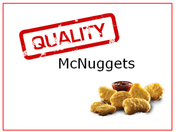 Quality McNuggets