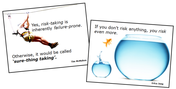 Risk-taking (quotes)