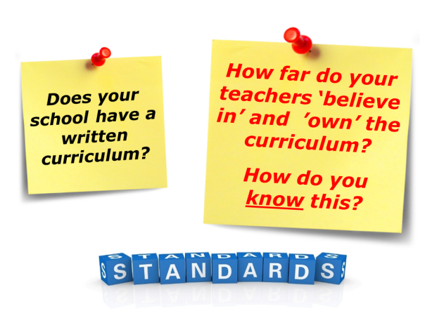 Standards (wrıtten curriculum)