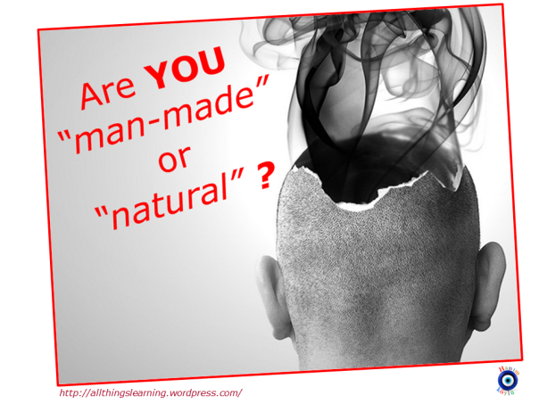 Are you man made (thunk)