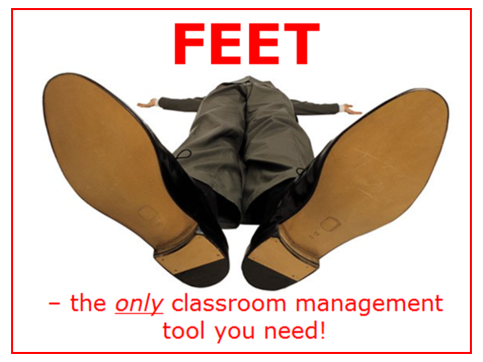 Classroom Management (feet)