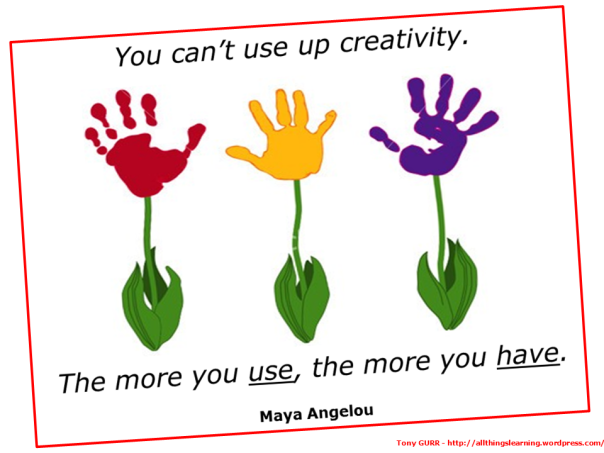 Creativity (Maya Angelou quote)
