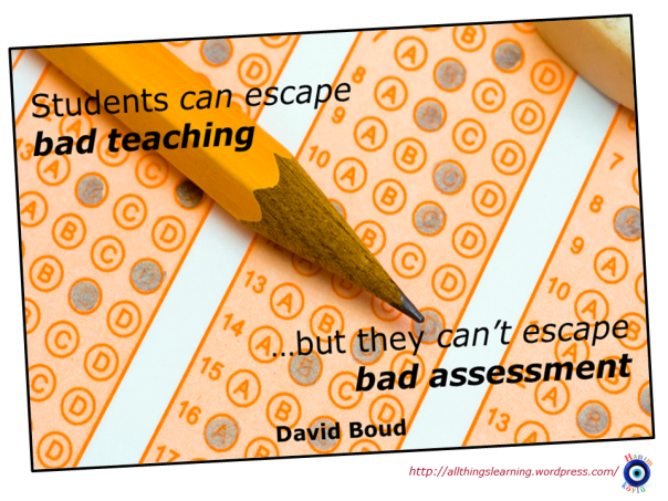 Assessment (David Boud quote) Ver 02