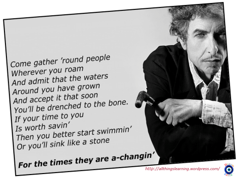 Bob Dylan (for the times they are a chagin) Ver 02