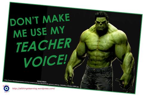 Dont make me use my TEACHer voice (TG ver)
