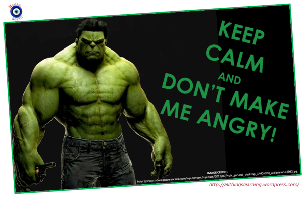HULK (keep calm TG Ver)