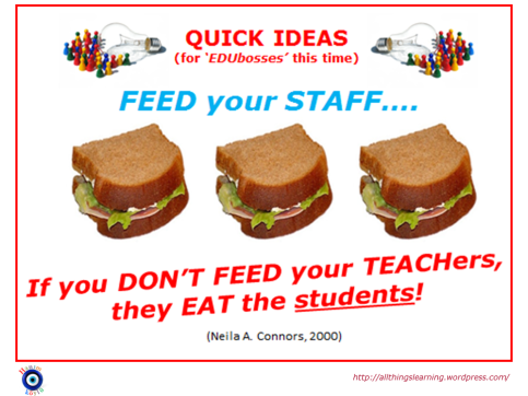 If you dont feed the TEACHers (Connors quote) Ver 02