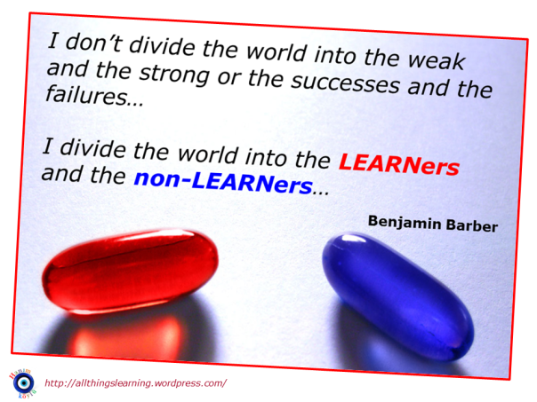 LEARNers and non LEARNers (Barber quote) Ver 02