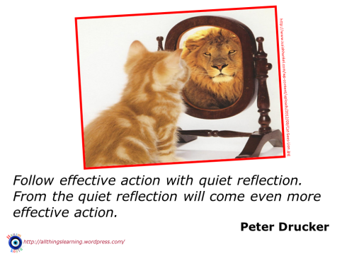 REFLECTION 09 (Drucker quote)
