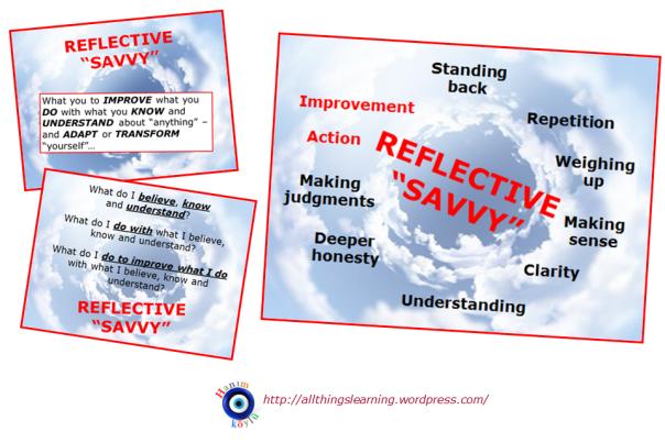 Reflective Savvy (3 slides) Ver 02