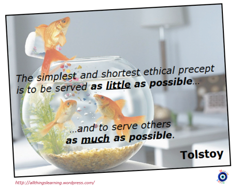 Servant fish (Tolstot quote) Ver 03