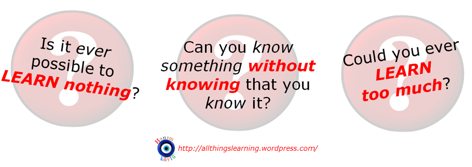 Allthingslearning: THUNKs & THUNKING