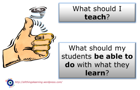 The toss up (LEARNing vs TEACHing)