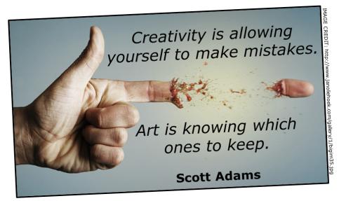 Creativity (Scott Adams quote 01)