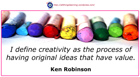 Creativity (Sir Ken quote 03 definition)