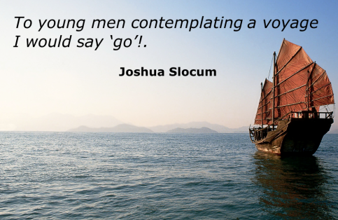 Sailing and Teamwork (Slocum quote 01)