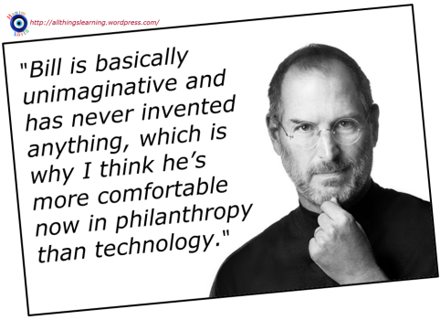 Steve Jobs on Bill Gates