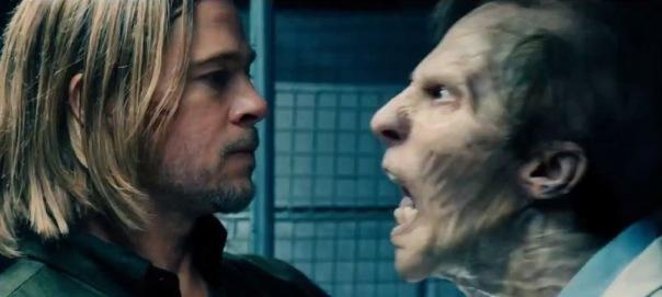 Brad kisses a zombie