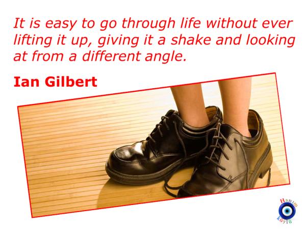 Give LIFE a SHAKE (Ian Gilbert)