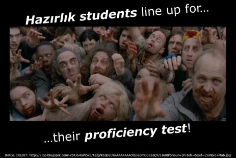 Hazırlık Mob (Proficiency Test)