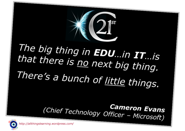 Next Big Thing (Cameron Evans quote) ver 02
