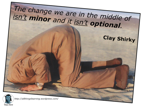Tech Change (Clay Shirky quote) ver 01