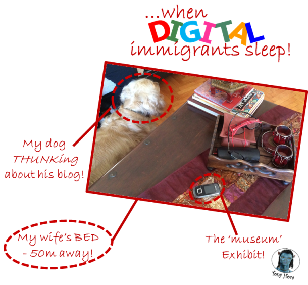 When digital immigrants go to sleep (TG ver)