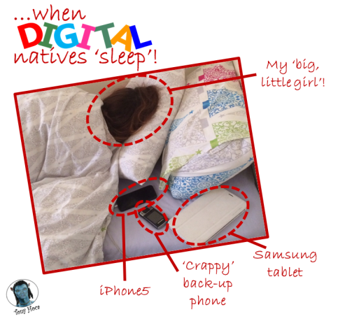 When digital natives go to sleep (TG ver)