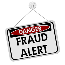 Fraud alert (sign)
