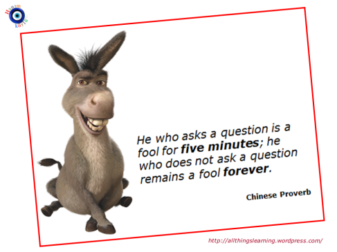 Questions (Chinese proverb and donkey) Ver 03